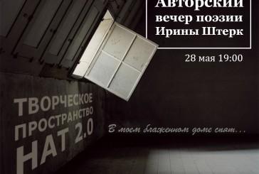 Авторский поэтический вечер актрисы Нового Арт Театра Ирины Штерк
